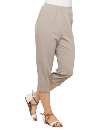 Crinkle Full Elasticated Pant
