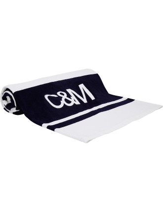 Stripe Logo Towel