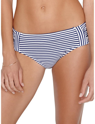 China Doll Stripe Panelled Mid Rise Pant