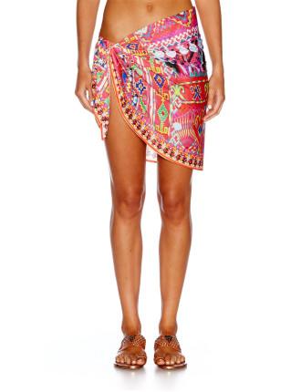 Sacred Weave Short Sarong