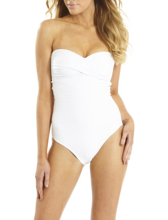 Serenity Panelled Bandeau One Piece