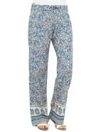 Abstract Paisley Border Beach Pant $139.00