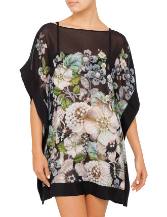 GEM GARDEN SHORT KAFTAN COVER UP