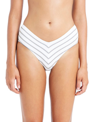 Joanne Stripe Bikini Bottom