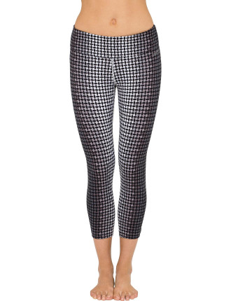 Jumble Crop Tight With Back Shirring