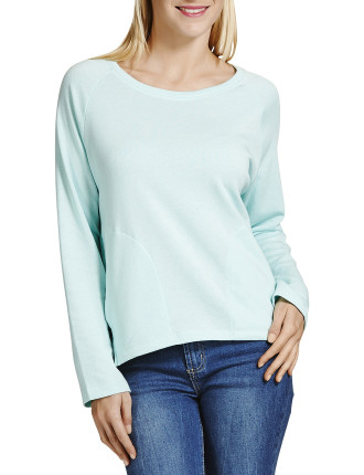 Slouchy Pocket Pull Over