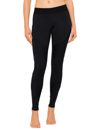 PINTUCK ANKLE LEGGING