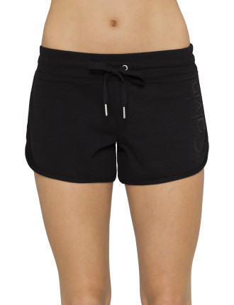 Logo Short with Ribbed Waistband