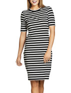 Brigitte Stripe Dress $39.95