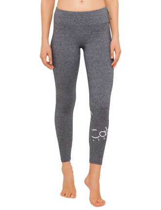 Ck Perf Wrap Around Logo Full Length Legging