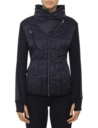 Sunburst Quilt Packable Jacket