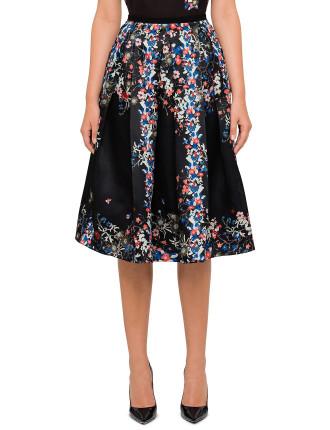 Ina Midi Length Skirt
