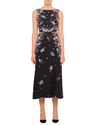 Juno Sleeveless Midi Dress