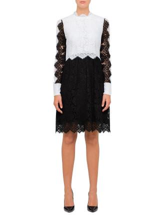 Luisa Long Sleeve Mini Dress