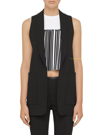 Splittable Tailoring Vest