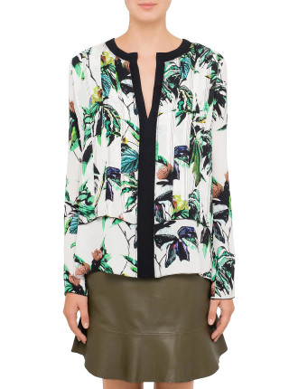 Tropical Long Sleeve Top