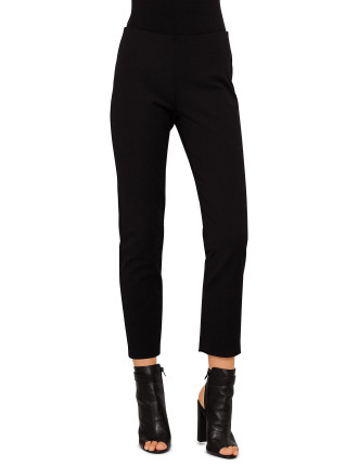 Slim Fit Side Zip Trousers