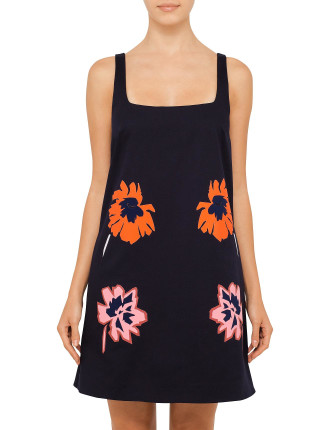 Flower Embroideried Dress