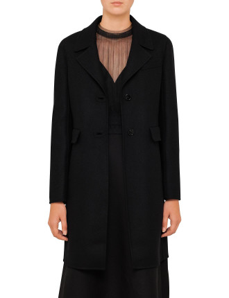 Coat With Back Buttons