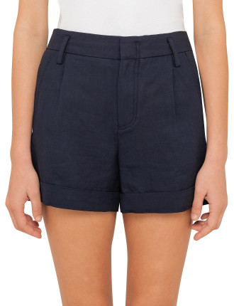 Slouchy Rolled Cuff Shorts