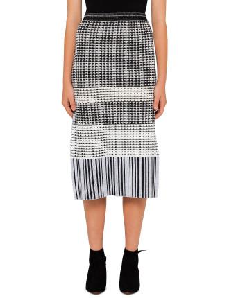Novelty Knit Skirt
