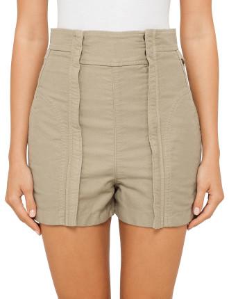 Washed Cotton Shorts