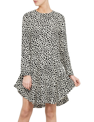 Printed Spots Dress
