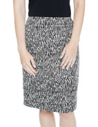 PURPLE JEWEL ZEBRA TEXTURED SKIRT $129.00