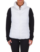 WINTER STRIPES TWO TONE PUFFER VEST $139.00