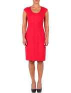 Cap Sleeve Ponti Panelled Dress $139.00