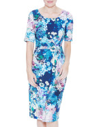 FULL BLOOM PRINT DRESS $129.00