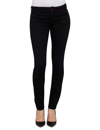 Medium Rise Slim Fit Skinny Leg