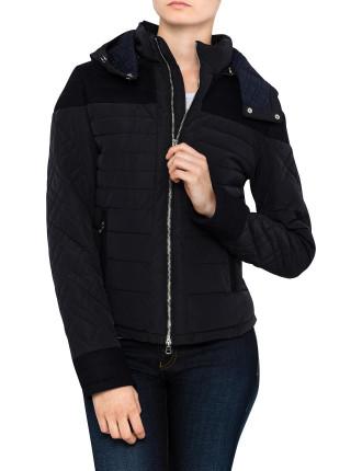 Zip Up Puffer Jacket