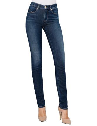 High Rise Straight Leg Jean