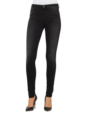 Orange J11 Slim Fit High Rise Jean