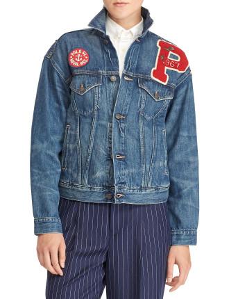 Riley Wash Trucker Jacket