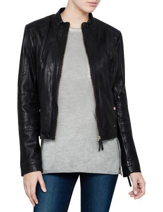 Jonassa Leather Jacket