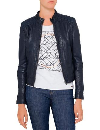 Janabelle Biker Leather Jacket