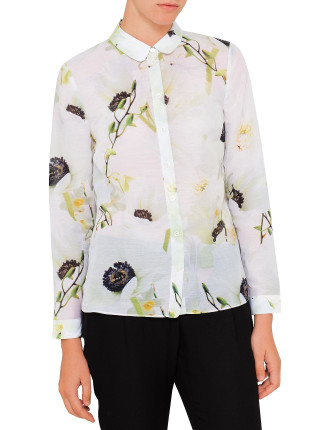 Graci Pearly Print Shirt