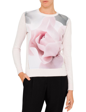 Arabell Porcelain Rose Jumper