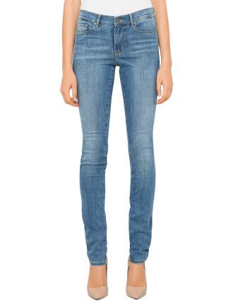 J10 Mid Rise Skinny Jean