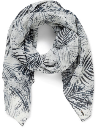 Nabamboo Palm Printed Scarf