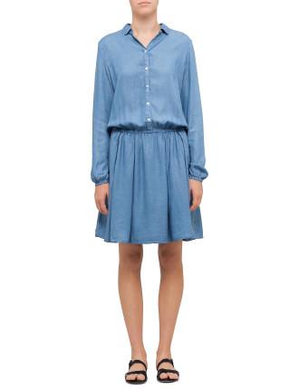 Clace Shirt Dress