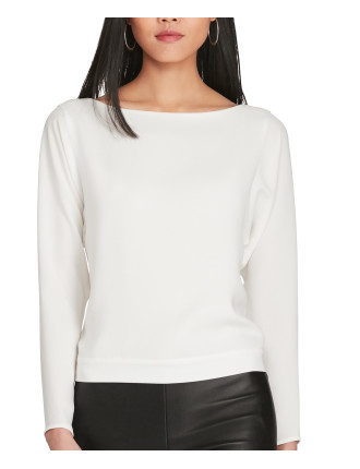 Modern Cady Long Sleeve Tie Back Top