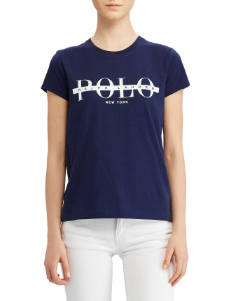Polo Print Logo T-Shirt