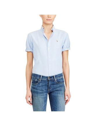 Light Weight Oxford Polo Becky Shirt