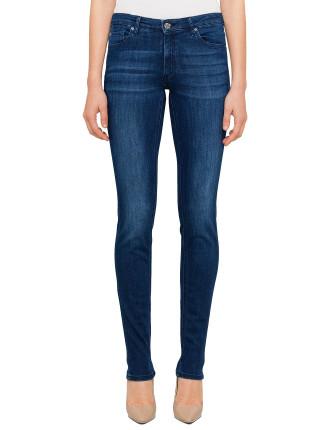 Orange J20 Mid Rise Slim Jean