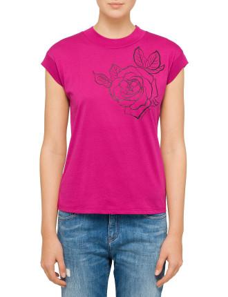 Rose Logo Tee