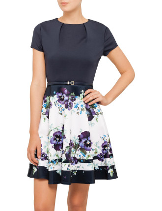 Stefh Entangled Enchantment Pleat Dress
