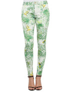Dancing Leaves Print Jean $199.95